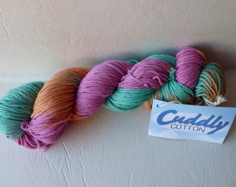 Yarn Sale  - 110 Cuddly Cotton by Knitting Fever