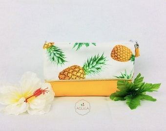 PINEAPPLE YELLOW POUCH