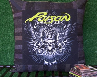 A BIG Pillow Sham for a BIG Poison Fan