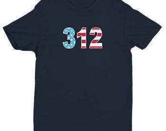 312 - Stars and Stripes - Chicago Cubs Shirt