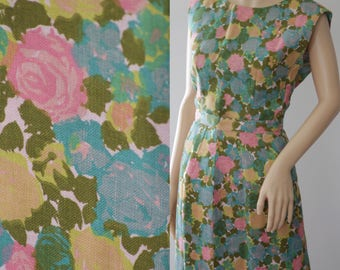 SALE - Fabulous 50s/60s Briarbrook Floral Mad Men Style 3 Pieces