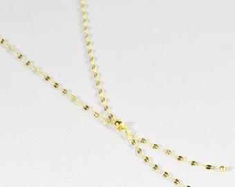 Y Lariat Necklace