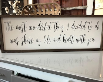 Farmhouse Framed Style The most wonderful thing