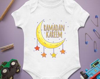 Ramadan Kareem / Baby Infant Newborn / Bodysuit Onesie / Baby shower First 1st birthday / Present Gift / Clothing Clothes / Boy Girl
