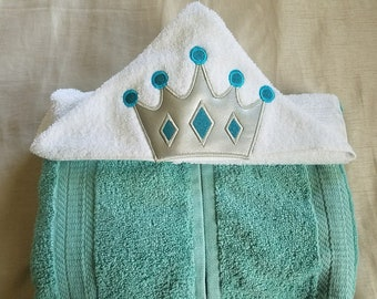 Kids Hooded Towel,Prince Hooded Towel,Gift For Kids,Boys Personalized Hooded Towel,Child's Hooded Towel,Birthday Gift for Kids,Kids Towel