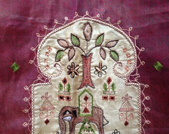 TS-41 Vintage Indian Silk Sari