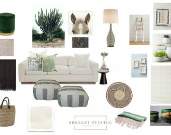 Interior design service. Complete room design, mood board AND shopping list! I will work with your budget and style. Save time & money!