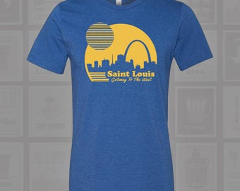 Gateway to the West, St Louis, STL, STL Sunrise, St Louis Arch, STL Arch, St Louis Shirt, St Louis Arch Shirt, Arch Shirt
