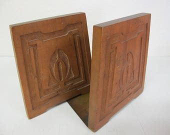 Arts and Crafts Bookend Craftsman Bookend Art Deco