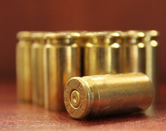 Size 40  -Spent Bullet Shell Casings - Ammo-set of 12 pieces - perfect for Altered Art and Steampunk Creations