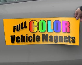 Two 12x12 Magnetic Sign - SPECIAL SHIPPING COSTS