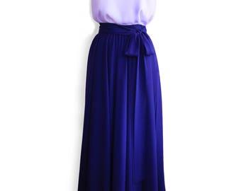 Bridesmaids Skirts, Wedding Maxi Skirt, Chiffon Maxi Skirt, Custom-made Dress, Wedding Skirt, Bridal Dress, Maxi Skirt, Wedding Separates
