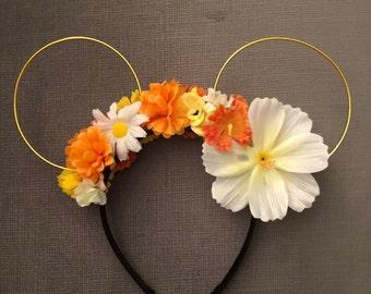 BB-8 Inspired Flower Ears