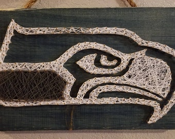 String Art Seahawks