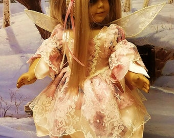 Woodland Fairy Costume fits American Girl Doll