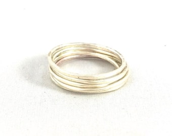 Sterling Silver Stack Rings
