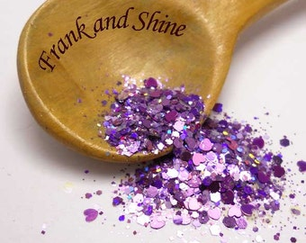 Blissful Hearts Solvent Resistant Glitter Mix