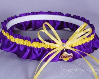 Los Angeles Lakers Wedding Garter