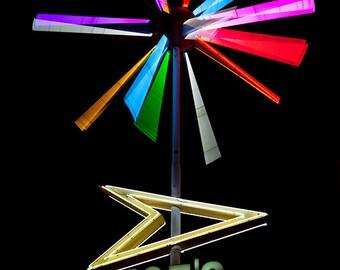 Joe's Liquor Neon Sign | Memphis Art | Home Bar Decor | Mid Century Modern Art | Retro Kitchen Decor | Mancave Decor | Gifts for Him