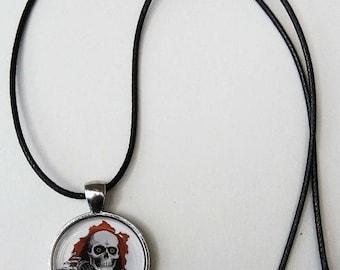 skulls, skull necklace