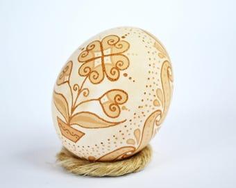 Real Ukrainian Pysanky Traditional Ukrainian Easter egg Chicken Pysanka Easter Egg Hand made