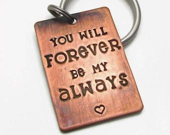 Custom Keychain, Personalized Anniversary Gift for Girlfriend, Boyfriend Gift, Gift For Her, Gift For Him, Wedding, Personalized Keychain