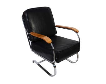 KEM Weber Springer Lounge Chair Rocker for Lloyd Machine Age Mid Century Modern