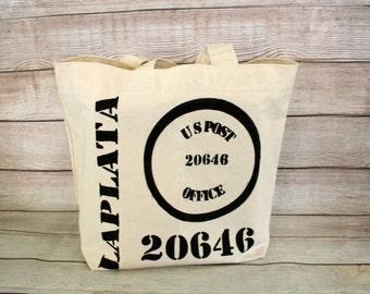 Market Bag, Zip Code, La Plata Bag