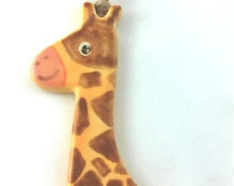 Cute Pottery Giraffe