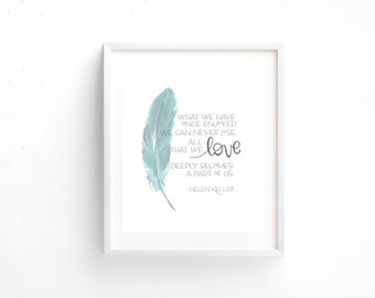 Art Print, Hand lettering, Faith Art, Faith Art Print, Scripture art, Love