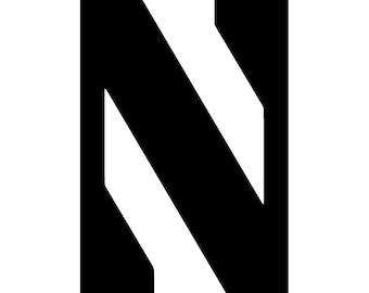 Northwestern Vinyl Sticker
