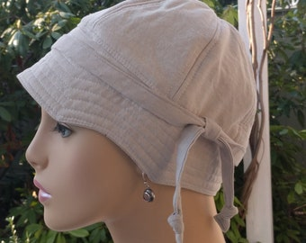 Womens Chemo Hats Chemo Cap Cancer Cap Chemo Hat Alopecia Hat Reversible SMALL-MEDIUM