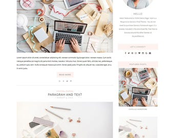 Responsive Wordpress Theme & Genesis Child Theme - // YOON