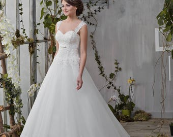 Wedding dress Princess elegant lace wedding dress wedding dress MELISSA