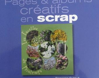 """Pages and creative scrap album"" - book Edition Crea Passions"