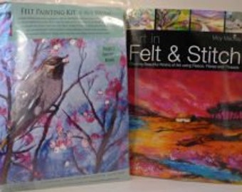 Bird -  Felt Kit & Book offer