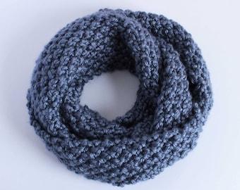 Infinity Scarf - Denim Blue