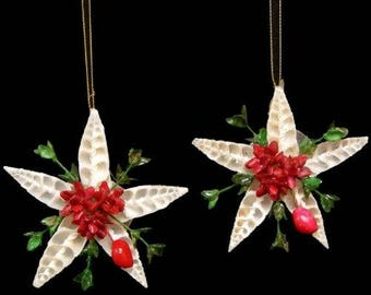Cerithium Vertagus Seashell Christmas Ornament  (JJ1-40)  (EA)