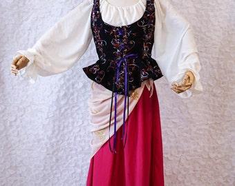 Gypsy, Esmerelda, Fortune Teller, Wench, or Bohemian - Size 12