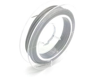10 m 0.45 mm wrapped (FIL124) twisted steel wire
