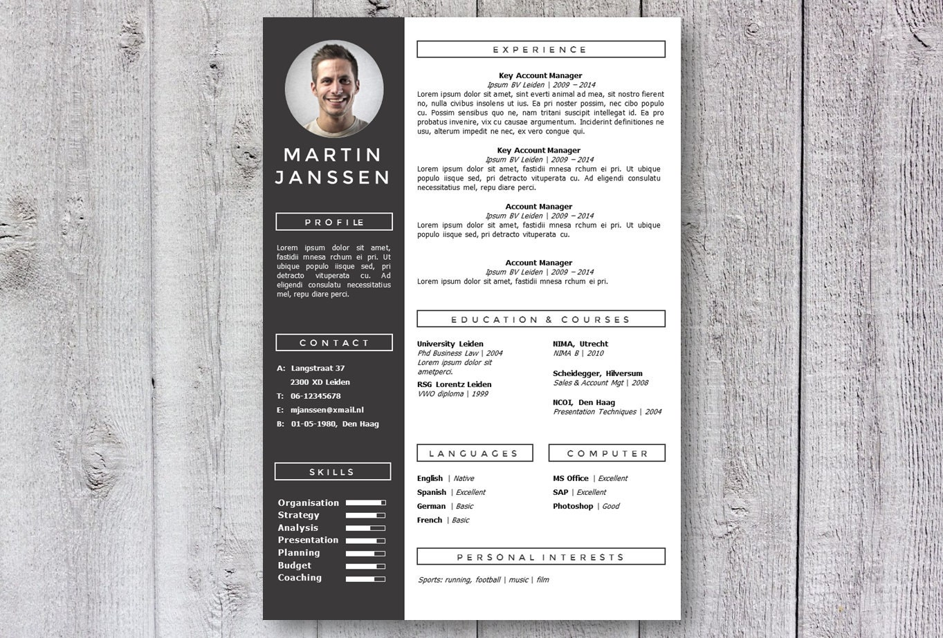 zoom - Creative Templates For Resumes