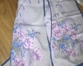 458) scarf printed Leonardi