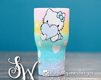 Hello Kitty Glitter Tumbler