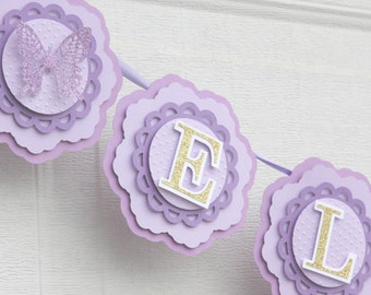 butterfly birthday decorations, butterfly banner, butterfly baby shower banner