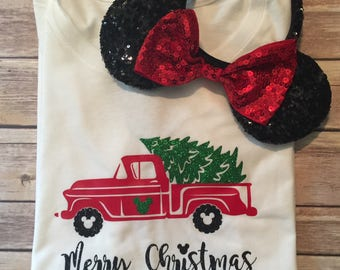Disney Christmas Shirt * Disney Vacation Shirt * Disney Shirt * Merry Christmas Shirt *