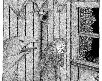 Gertrude : Bande dessinée de ténèbres