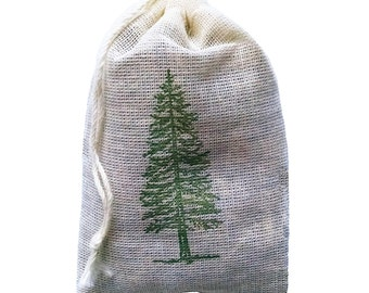 Evergreen Pine Sachet - 3 Pack for Laundry or Drawer