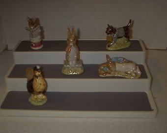 Collection of Beatrix Potter Collectable Figures #7
