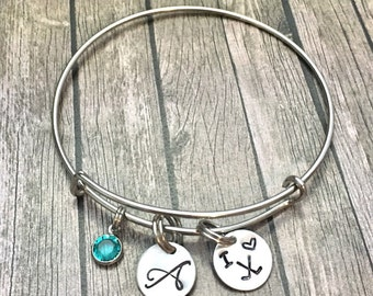 Field hockey - Ice Hockey - Mom - Charm bracelet - Bracelet - Field hockey charm - Ice Hockey jewelry - Field hockey jewelry -