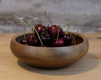 English Walnut Small Wood Bowl - Handmade - Wooden Bowl